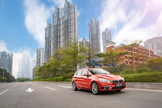 摩登时代 新BMW 2系旅行车载你花样塑形